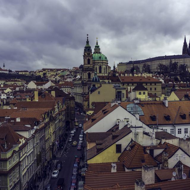 """""""Malá Strana in Prague"""" stock image"""