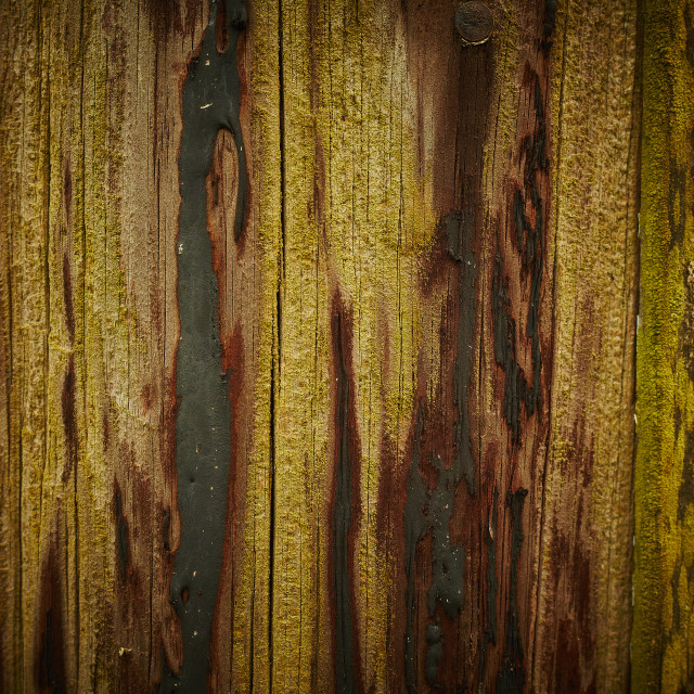 """""""Close up of a wooden lam post"""" stock image"""