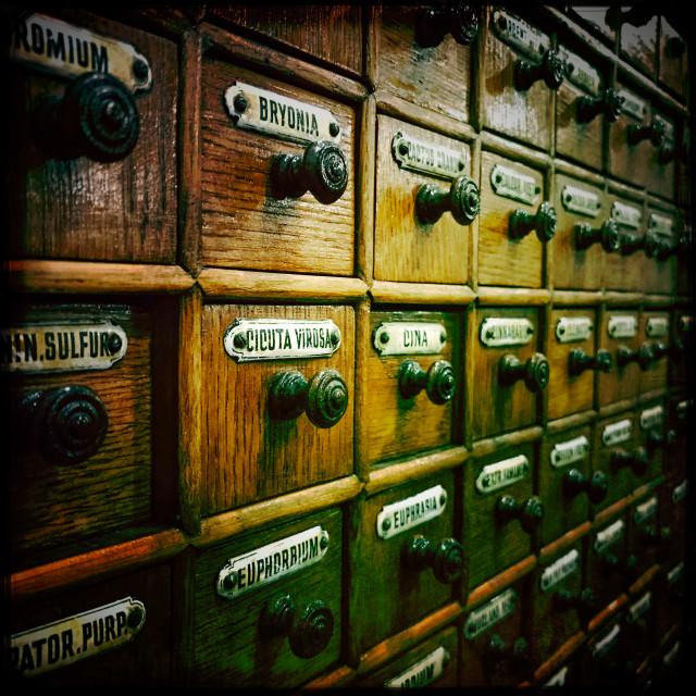 """Medicine Cabinet"" stock image"