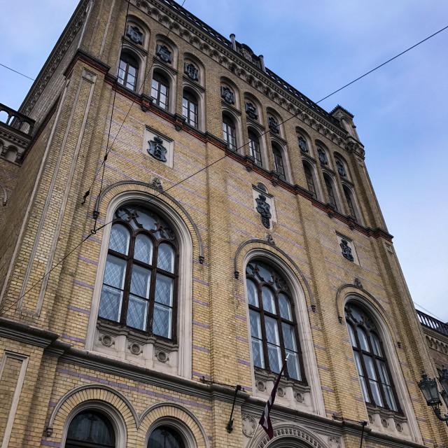 """Riga University"" stock image"