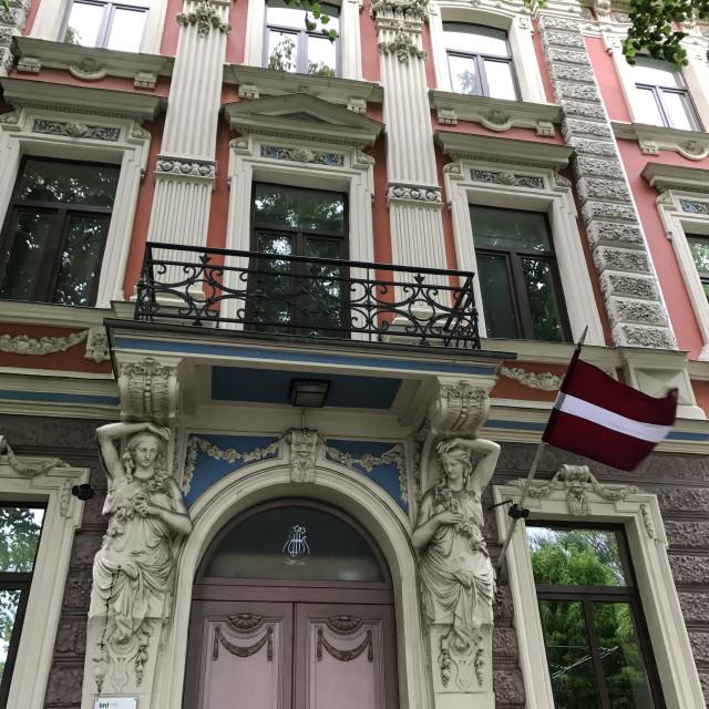 """""""Riga Doorway"""" stock image"""