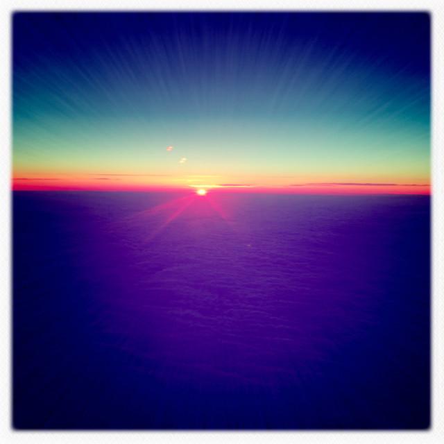 """Sunset Sky"" stock image"