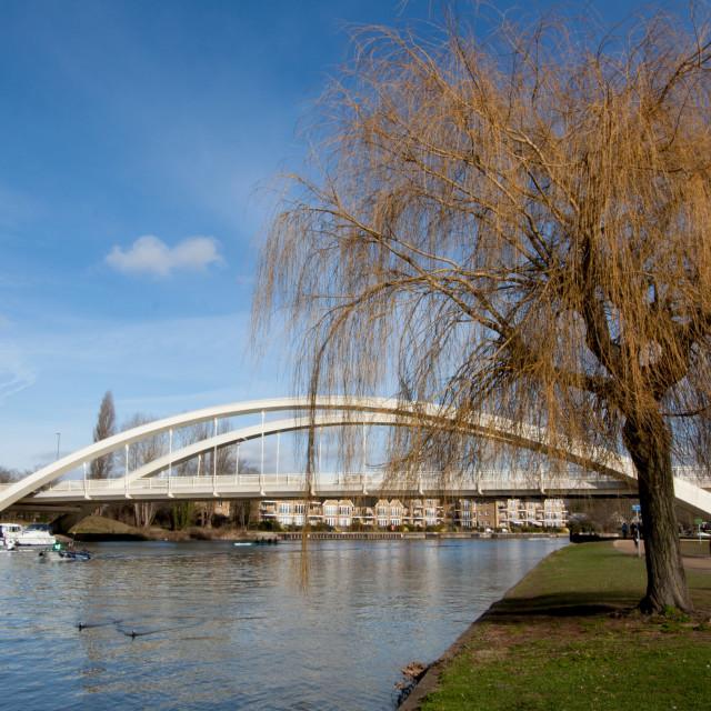 """Walton bridge - Surrey"" stock image"