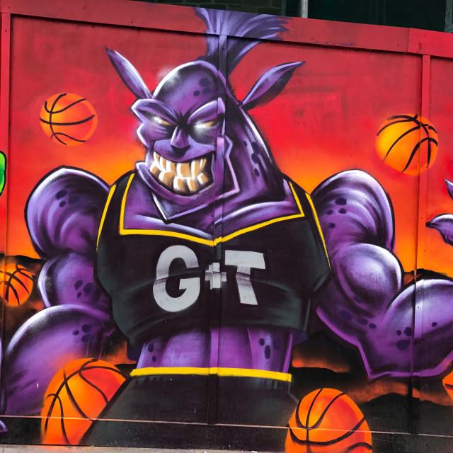 """Basketball Monster"" stock image"