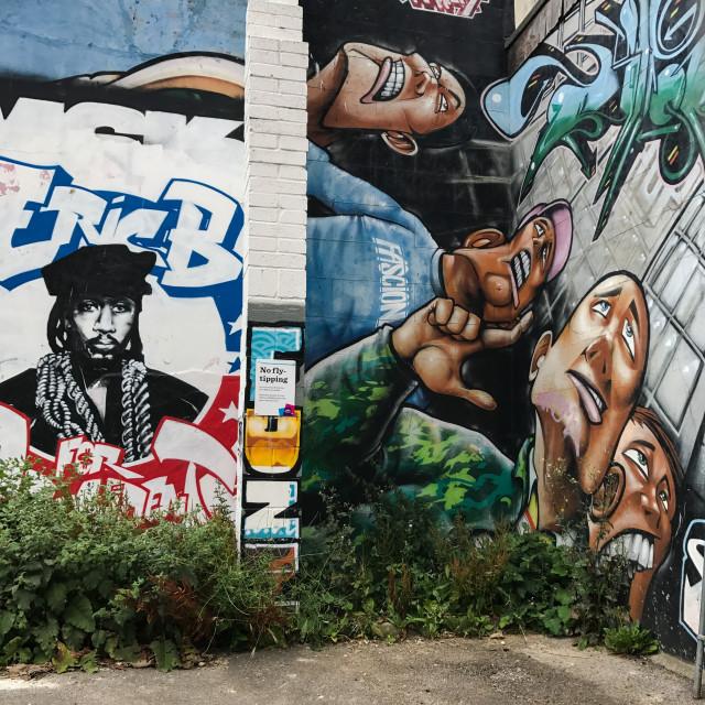 """Brighton Graffiti"" stock image"