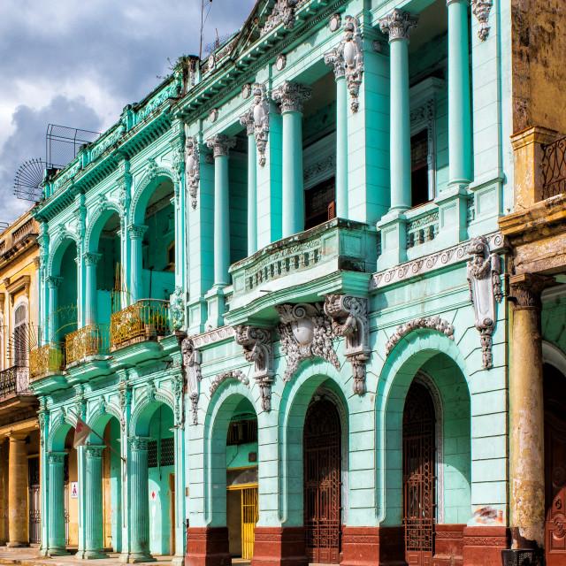 """Colonial Havana"" stock image"