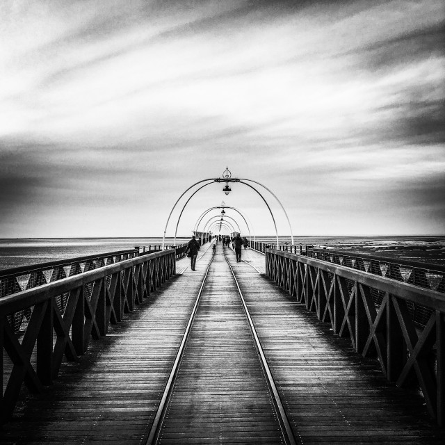 """""""Southport Pier"""" stock image"""
