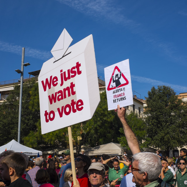 """We Just Want to Vote - Franco returns"" stock image"