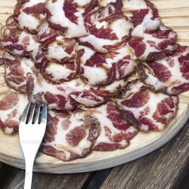 """Portuguese sausages"" stock image"