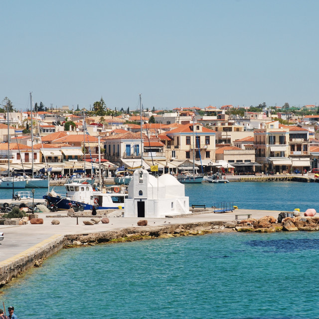 """Aegina island in Greece"" stock image"