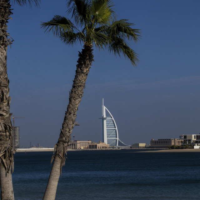 """Jumeira the Palm"" stock image"