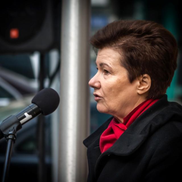 """""""Mayor of Warsaw"""" stock image"""