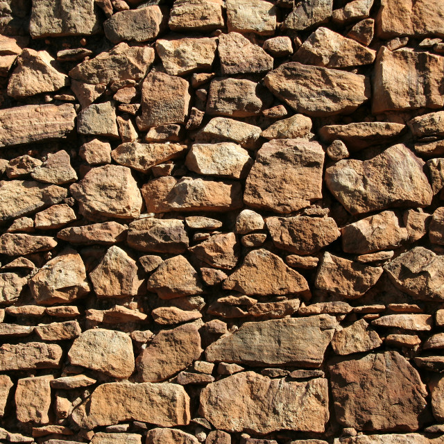 """Rubbly Wall"" stock image"