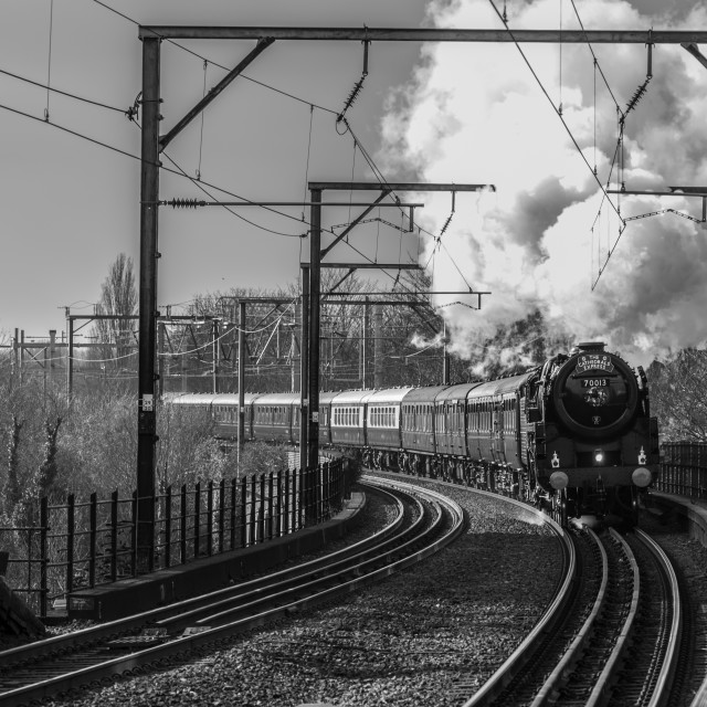 """""""70013 Oliver Cromwell"""" stock image"""