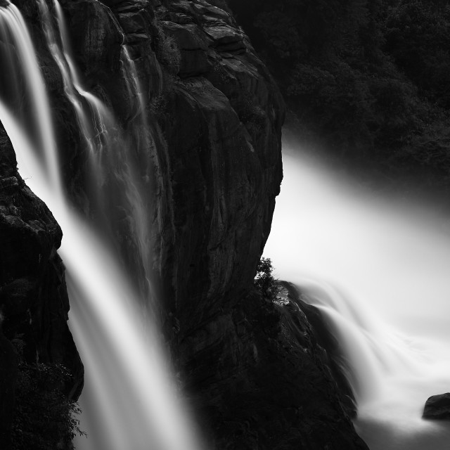 """Athirappalley Water Falls - Study 3"" stock image"