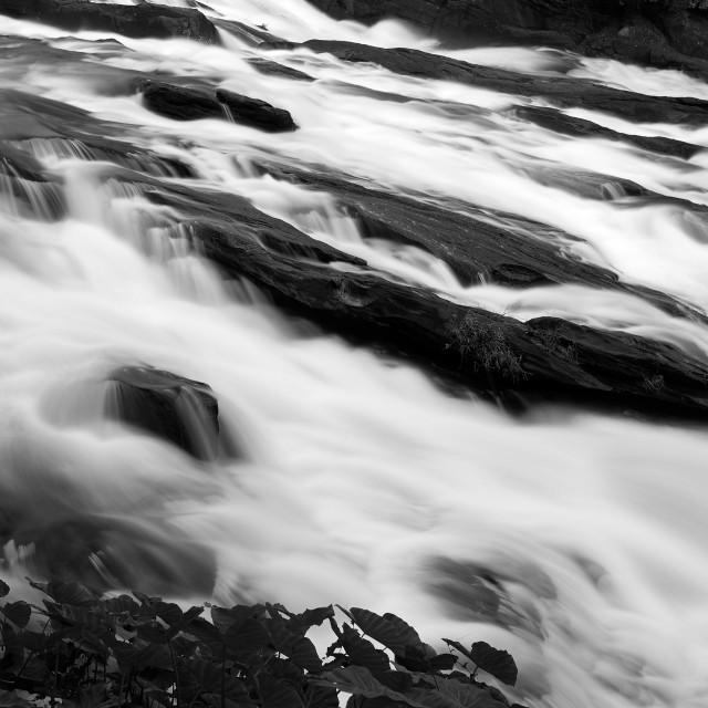 """Vazhachal Water Falls"" stock image"