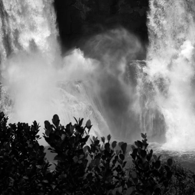 """Athirappalley Water Falls - Study 1"" stock image"