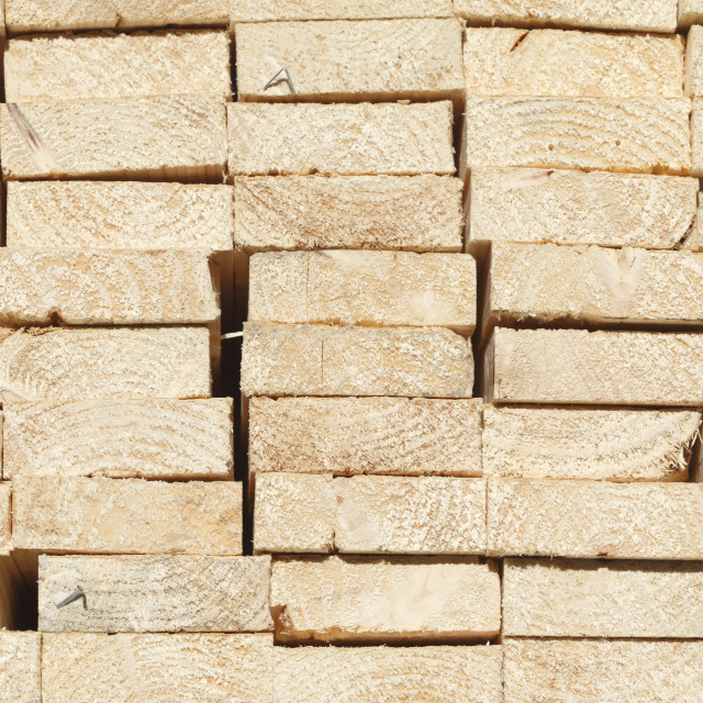 """stacked up wooden boards"" stock image"