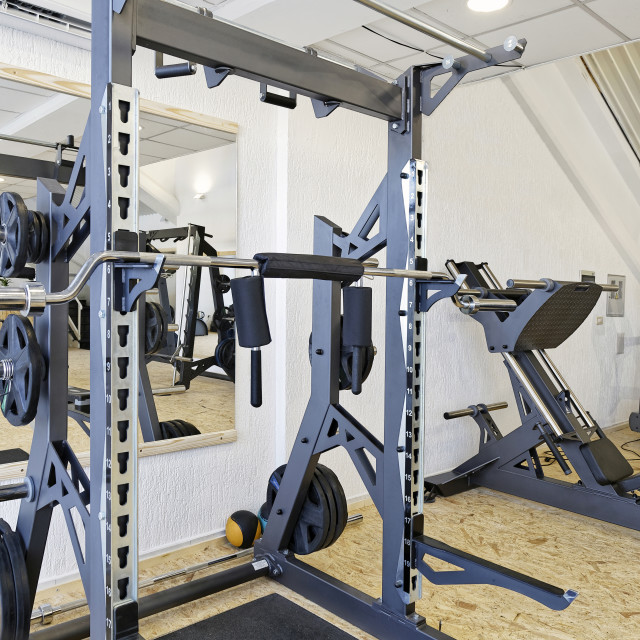 """Gym room"" stock image"