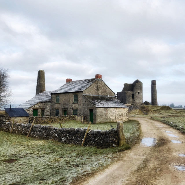 """Magpie Mine - Entrance"" stock image"