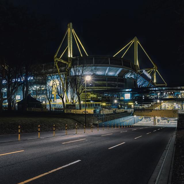 """""""Signal Iduna Park"""" stock image"""