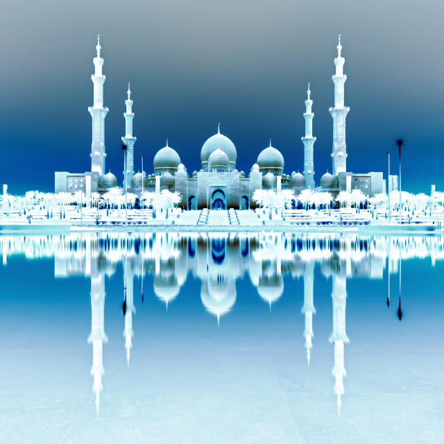 """Sheikh Zayed Grand Mosque"" stock image"