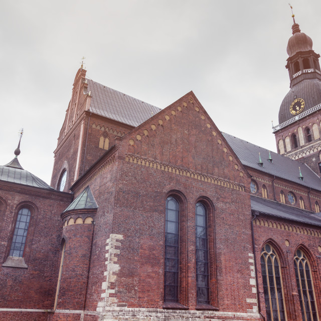 """Riga Cathedral in the city center"" stock image"