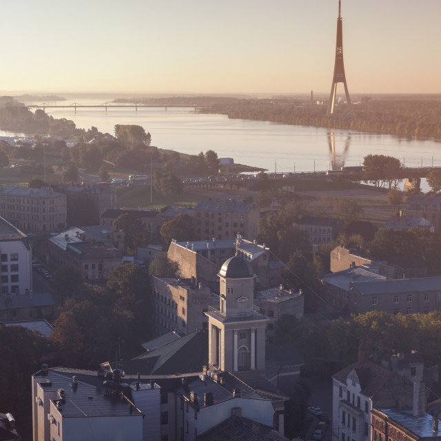 """Riga Radio and TV Tower"" stock image"