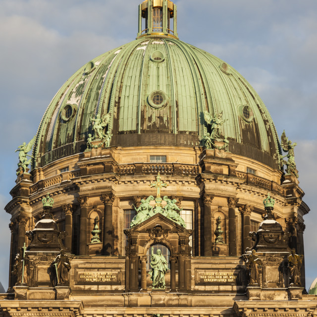 """""""Berlin Cathedral at sunset"""" stock image"""