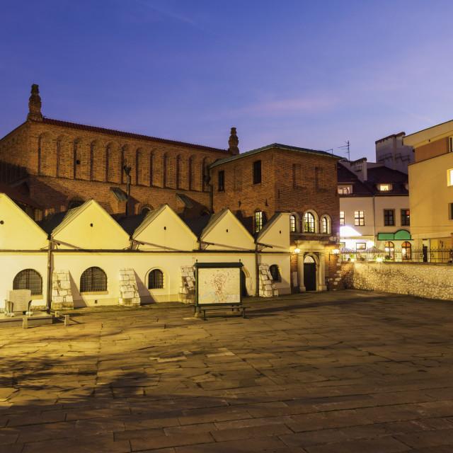 """Old Synagogue - Kazimierz in Krakow"" stock image"