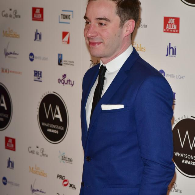 """""""WhatsOnStage Awards, London, UK"""" stock image"""