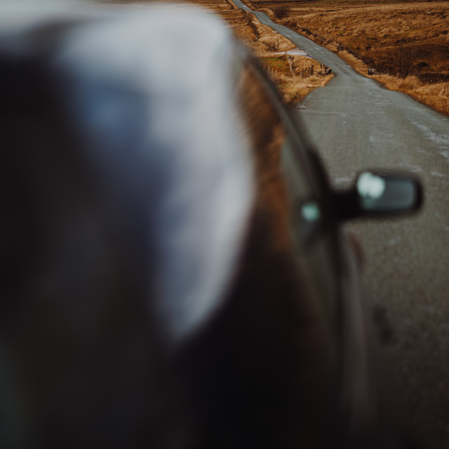 """Roadtrip"" stock image"