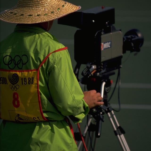 """Seoul Olympics 1988"" stock image"