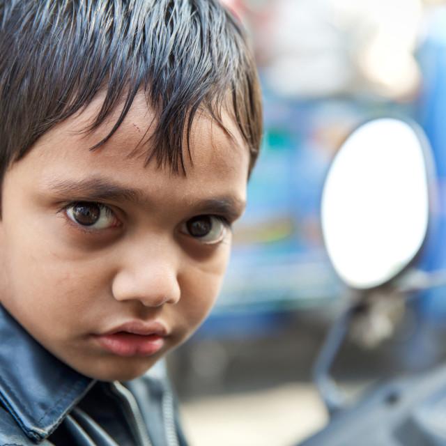 """""""Kids in Kolkata - India II"""" stock image"""