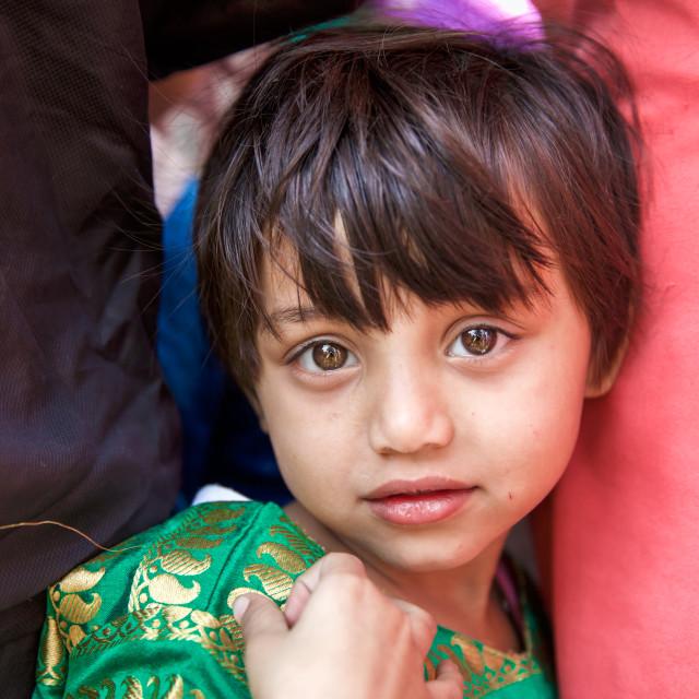 """""""Kids in Kolkata - India IV"""" stock image"""