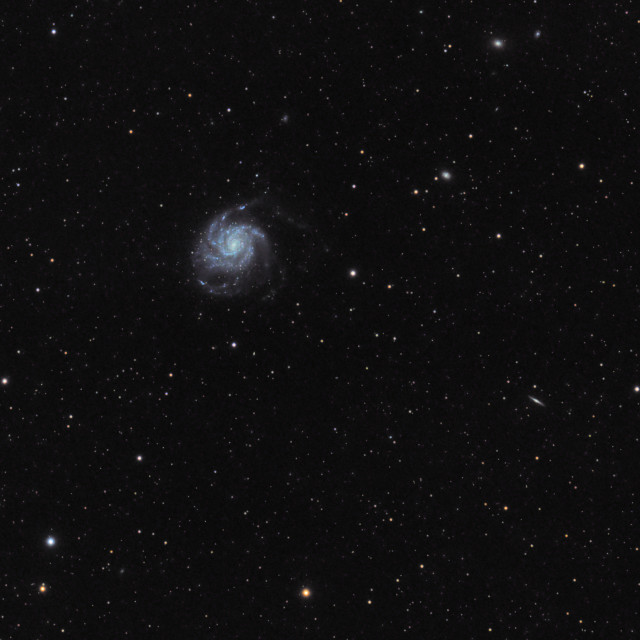 """M101 - The Pinwheel Galaxy"" stock image"