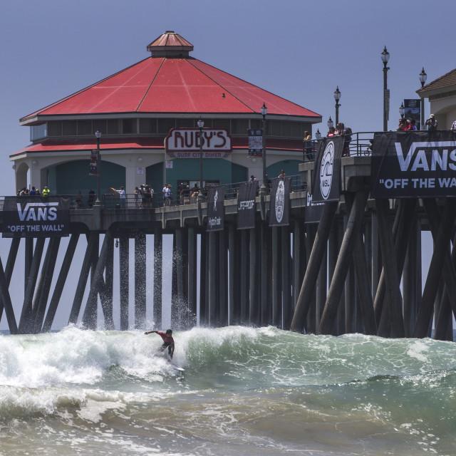 """Vans US Open, Huntington Beach"" stock image"