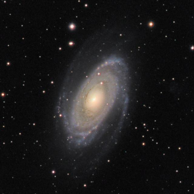 """""""M81 Bodes Nebula"""" stock image"""