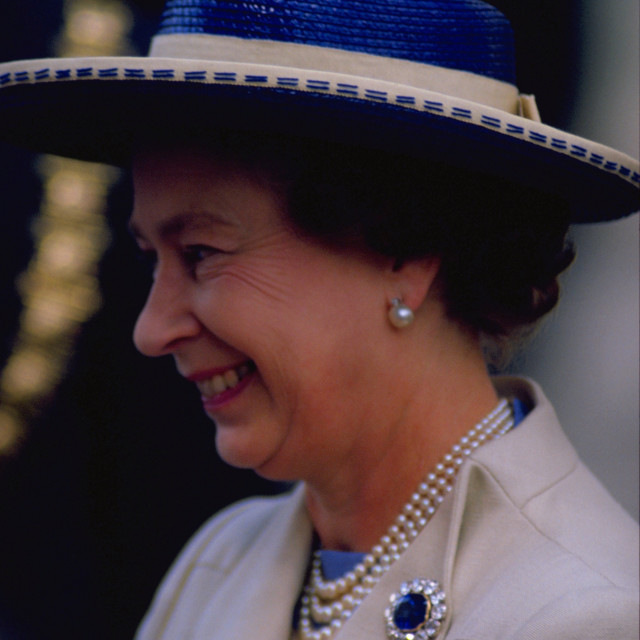 """Queen Elizabeth II"" stock image"