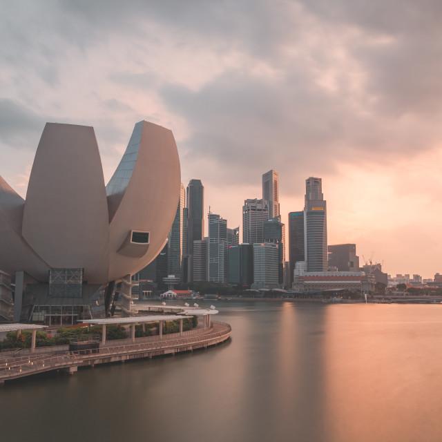 """""""Sunny Singapore"""" stock image"""
