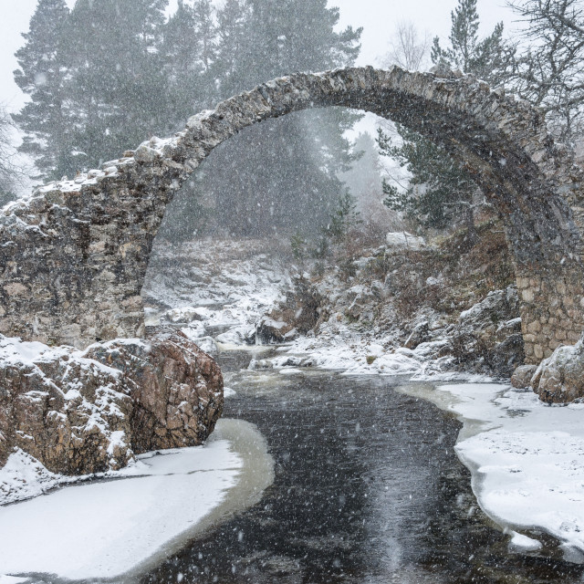 """Packhorse Bridge"" stock image"