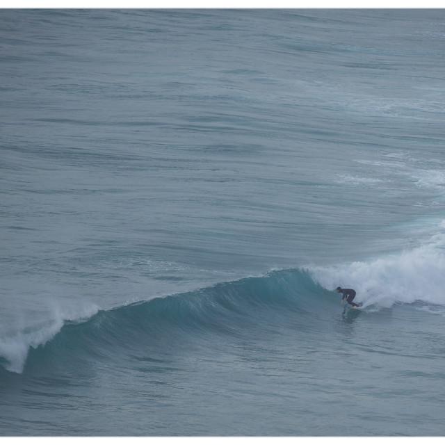 """""""Sennen Surfer"""" stock image"""