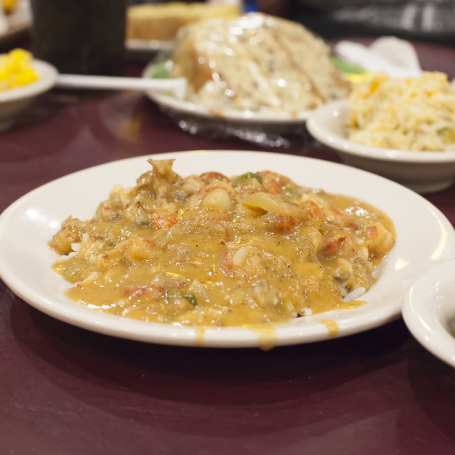 """Crawfish Etouffee"" stock image"