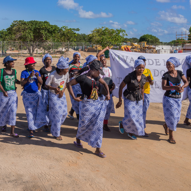 """National Womens Day Mozambique"" stock image"