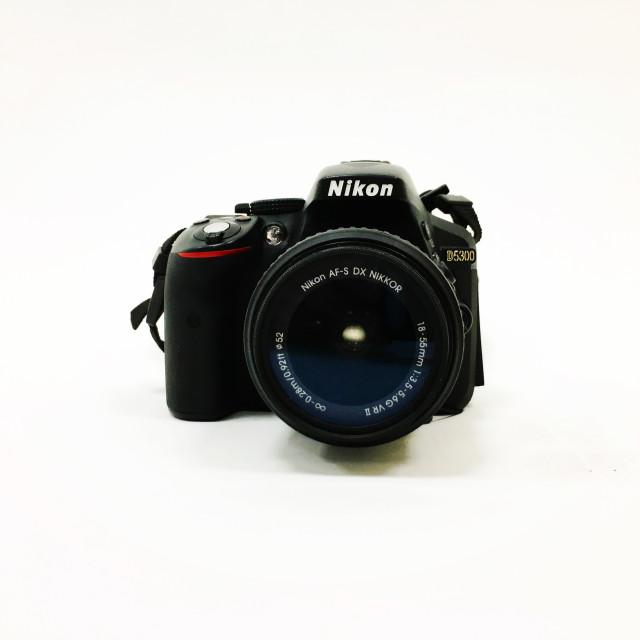 """A Nikon camera"" stock image"