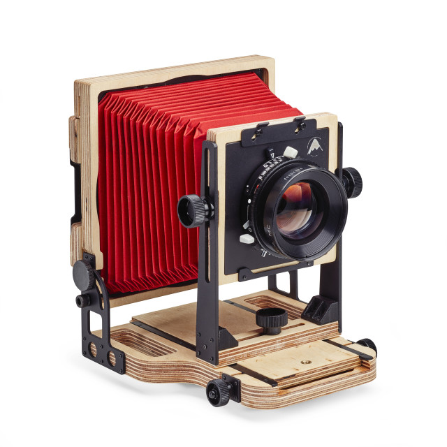 """Intrepid 5x4 camera"" stock image"
