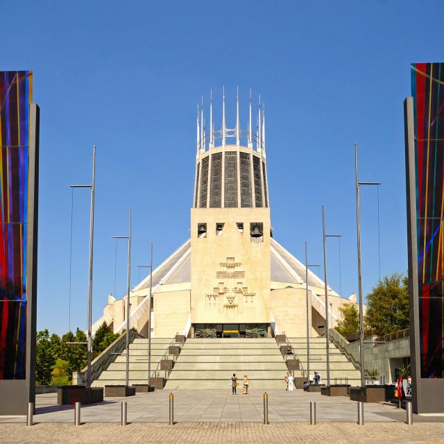 """Liverpool Roman Catholic Cathedral"" stock image"
