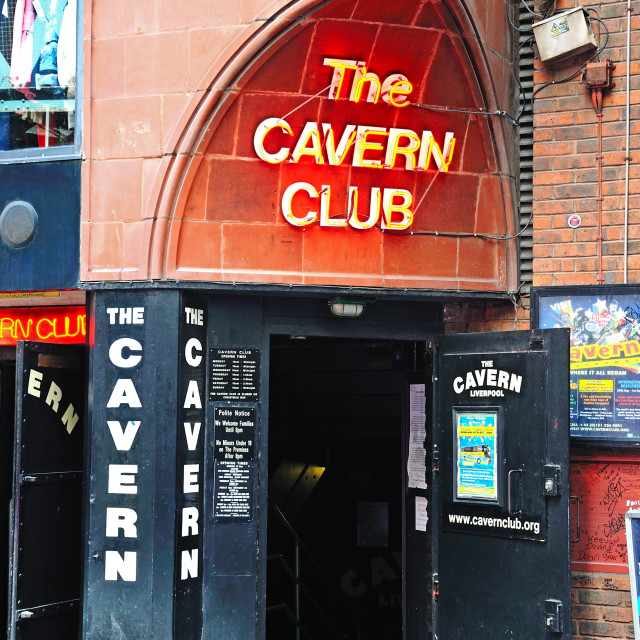"""""""The Cavern Club in Liverpool"""" stock image"""