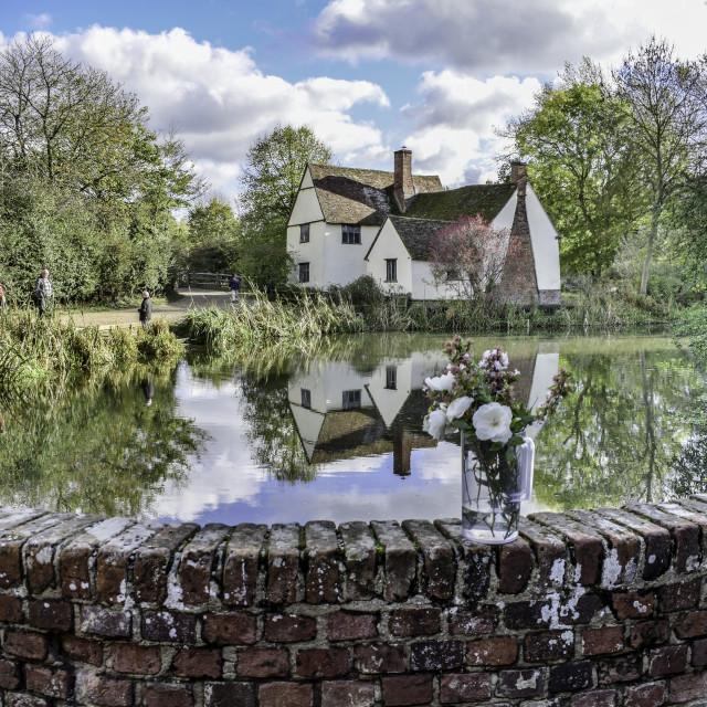 """Willys Lott Cottage - Flatford"" stock image"