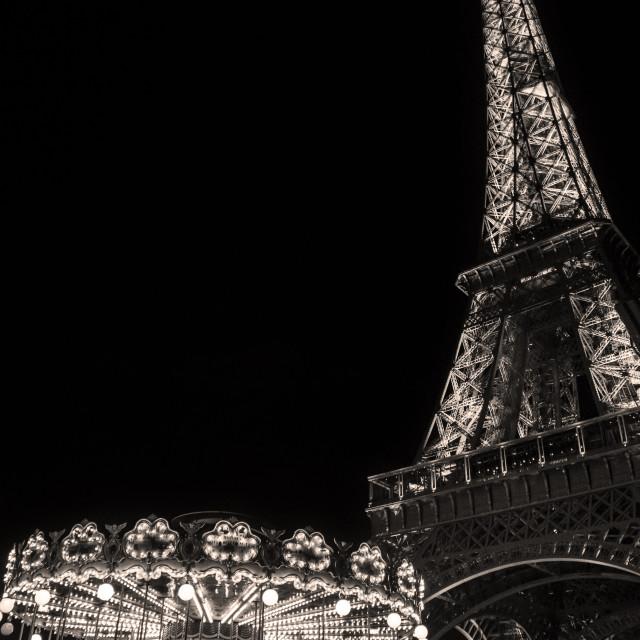 """Eiffel nights"" stock image"